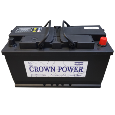Crown 100ah Semitraktie accu 95751
